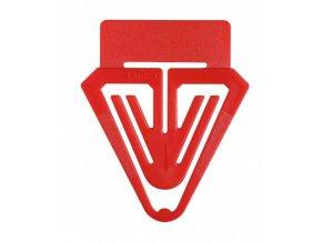 Dopisová spona RON 662 plastová popisovací 40 mm, 5 ks