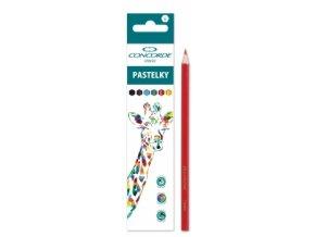 Pastelky CONCORDE Classic 6ks, Safari