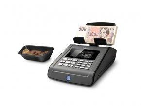Počítačka bankovek Safescan 6185 černá