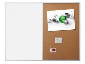 Kombinovaná tabule Magetoplan SP optimal korek/magnet 120x90 cm