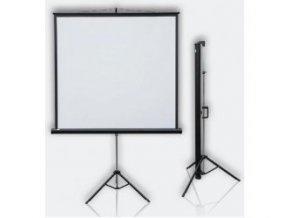 Mobilní projekční plátno Profi Tripod mobil 177x177