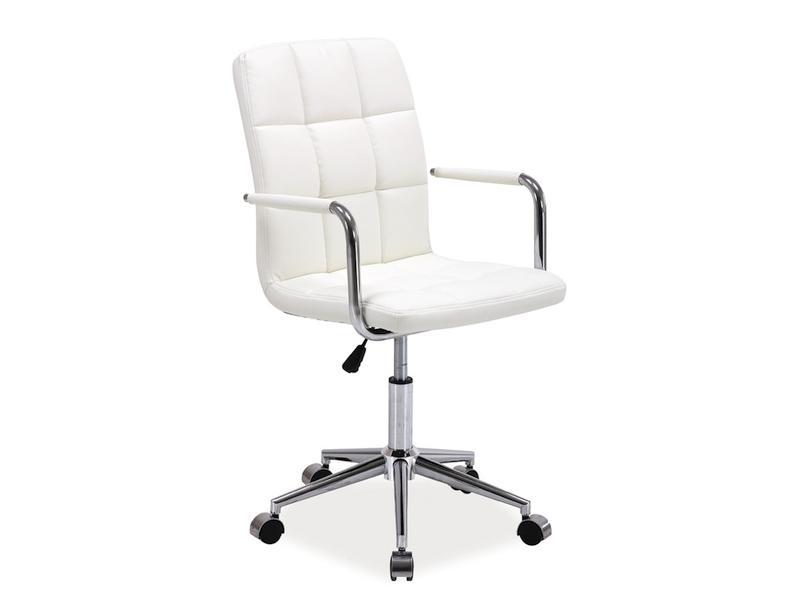 Kancelářská židle SEDIA Q022, bílá