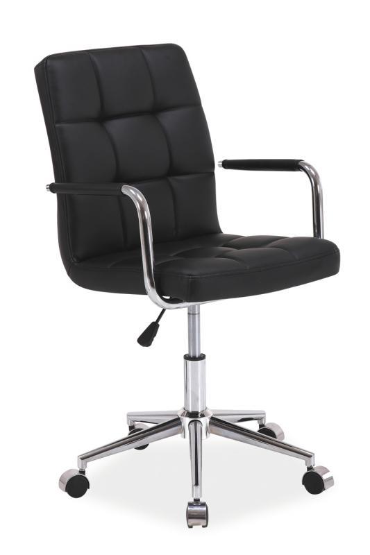 Kancelářská židle SEDIA Q022, černá