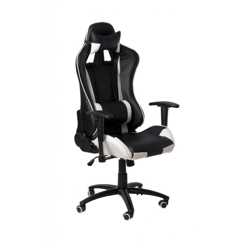 ADK TRADE s.r.o. Kancelářská židle ADK Runner, černo-bílá