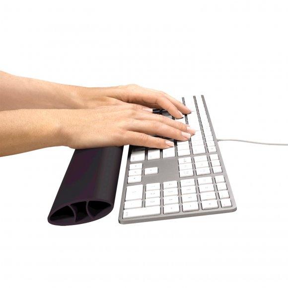 Opěrka zápěstí ke klávesnici Fellowes I-Spire, černá