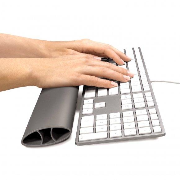 Opěrka zápěstí ke klávesnici Fellowes I-Spire, šedá