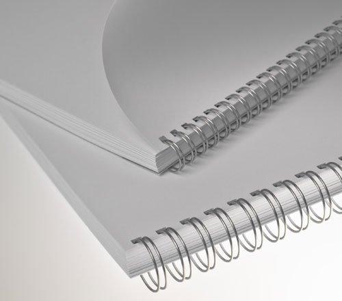 """Renz kovové hřbety (3/1"""") 6,4 stříbrné"""