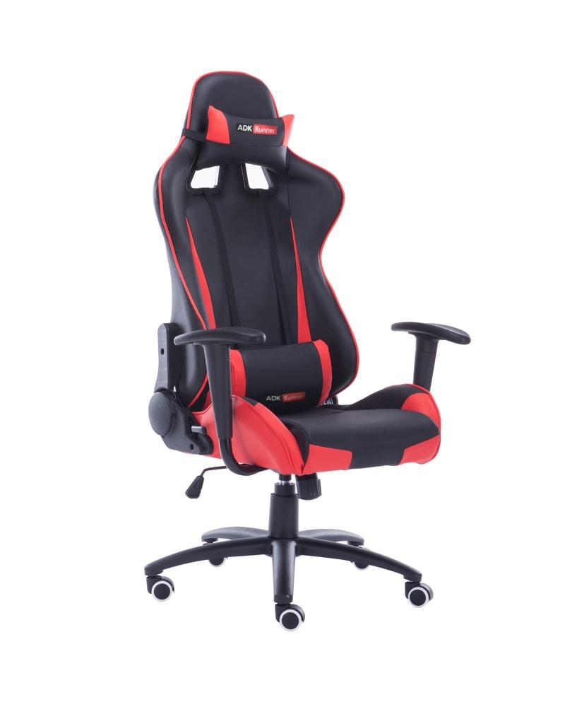 ADK Trade Kancelářská židle ADK Runner, červeno-černá
