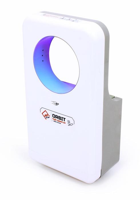 JetDryer Vysoušeč rukou Jet Dryer Orbit, bílý