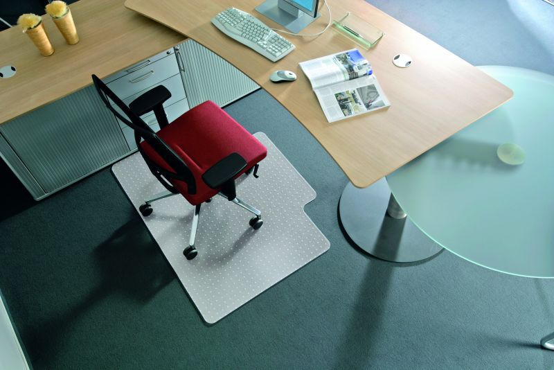 RS OFFICE Podložka na koberec BSM Q 1,2x1,5