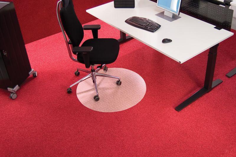 RS OFFICE Podložka na koberec BSM R 60 cm