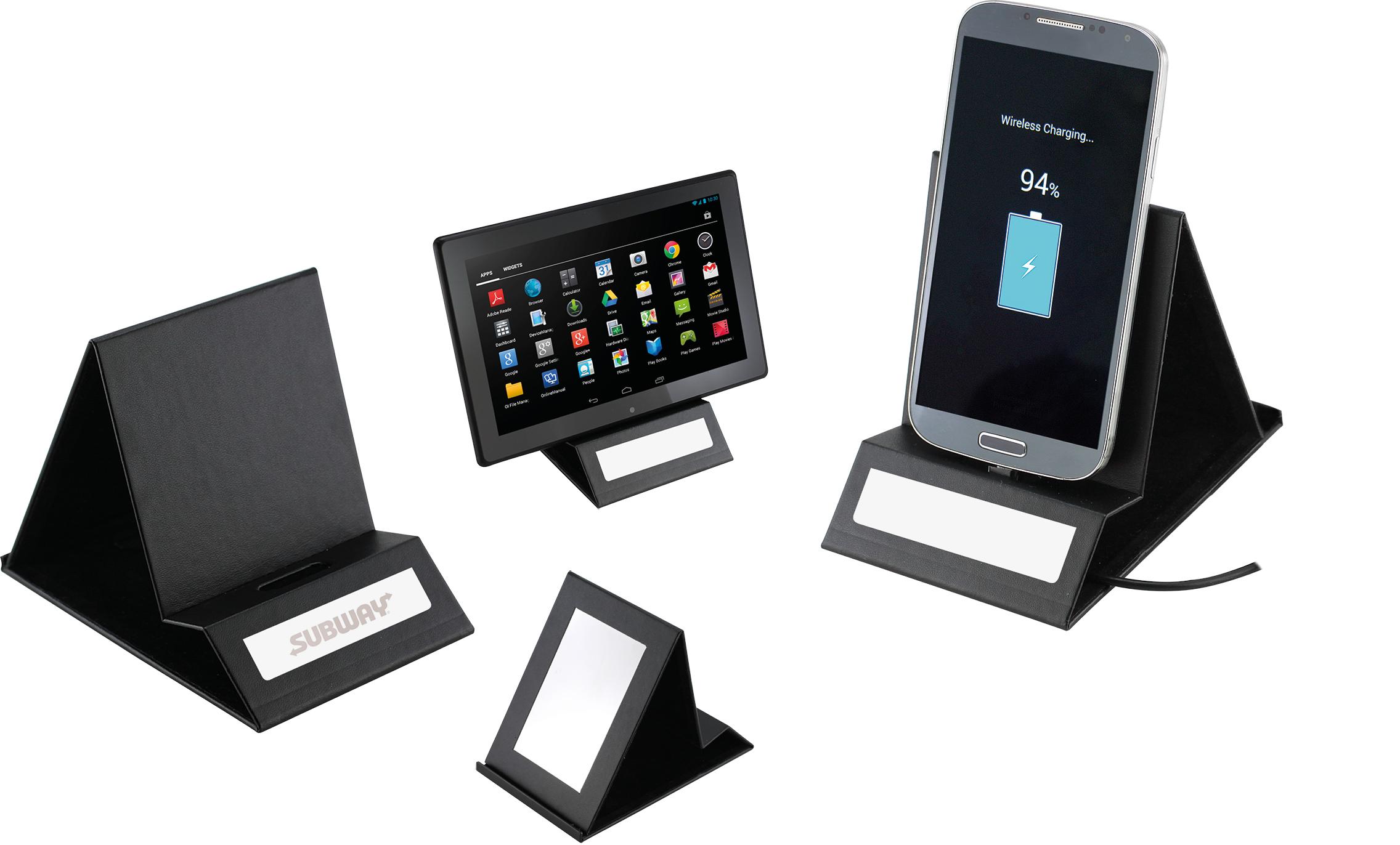 EMPEN Kovový skládací stojánek na mobil Furioso, černý