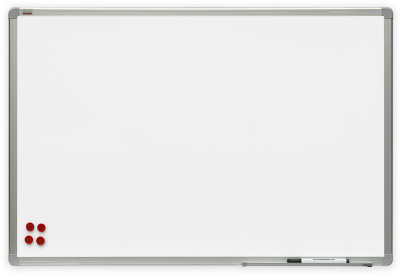2x3 Bílá magnetická tabule Premium 90x60