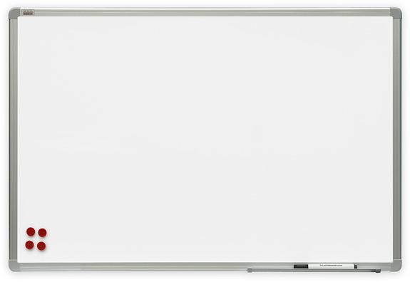 2x3 Bílá magnetická tabule Premium 180x90