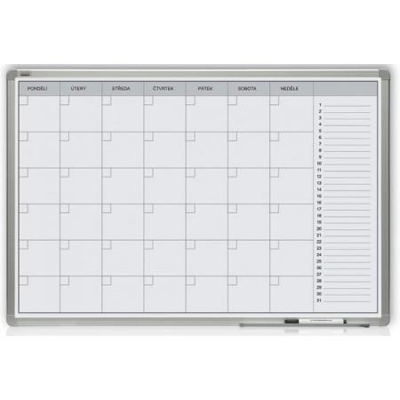 2x3 Měsíční plánovací tabule 60x90 magnetická