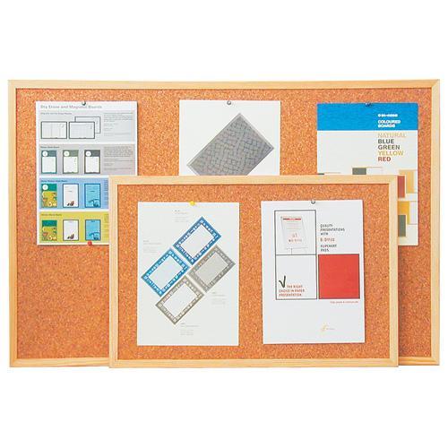 Bi-office Korková tabule 90x120, Economy