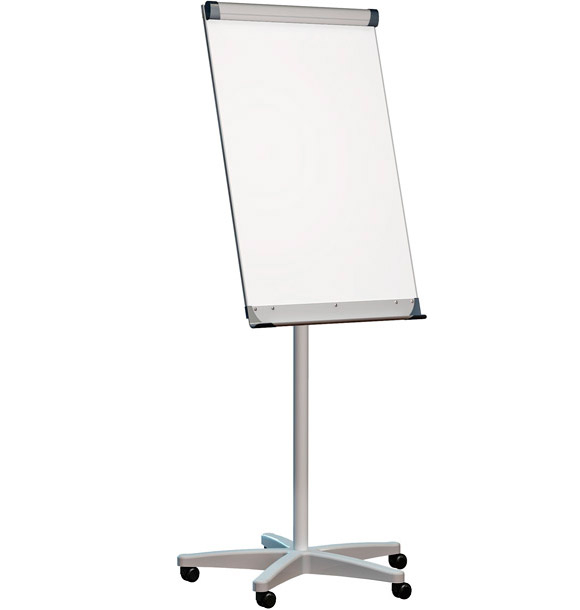 2x3 Flipchart MOBILCHART, mobilní, 100x70 cm P-TF03