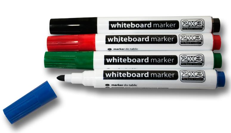 2x3 Sada popisovačů - bílé tabule