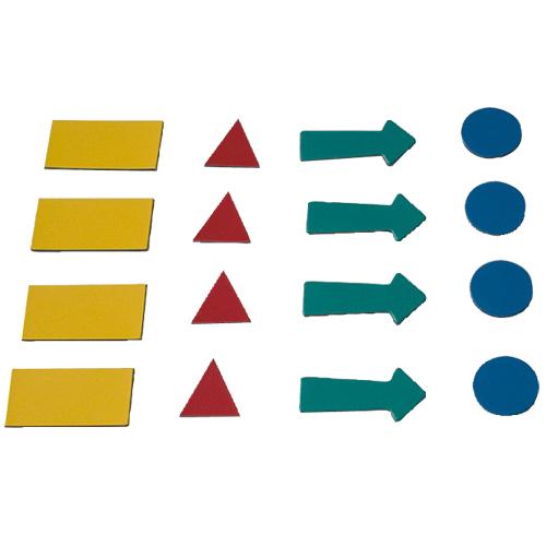 2x3 Magnetické symboly 4 listy