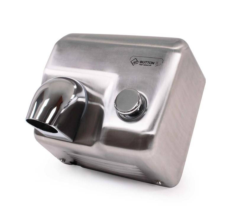 JetDryer Vysoušeč rukou Jet Dryer BUTTON, stříbrný 8596220009272