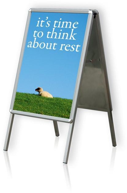 2x3 Tabule plakátová na stojanu, A1
