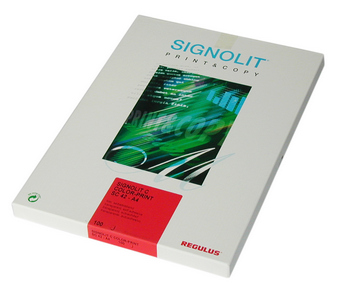Regulus Signolit SC 46 - bílá lesklá samolepka A3