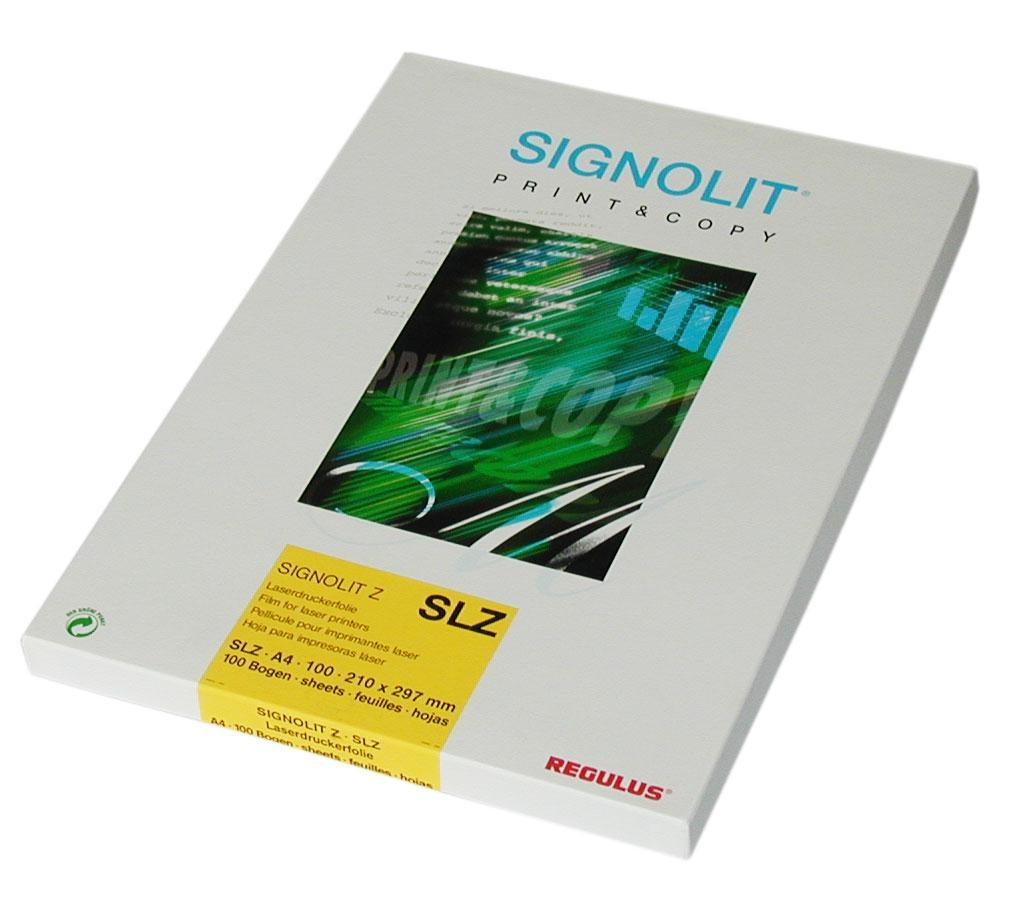 Regulus Signolit SLG A4 - čirá samolepka