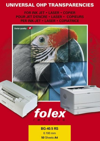 Folex Sticky Jet Clear - čirá samolepka A4