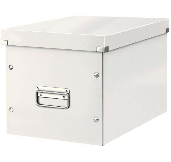 Leitz Čtvercová krabice Click-N-Store bílá A4 61080001