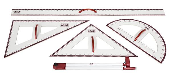 2x3 Sada magnetického příslušenství k školním tabulím