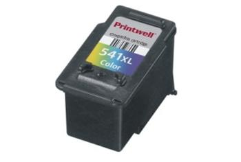 Printwell Canon CL-541XL color - kompatibilní cartridge 24ml + čip
