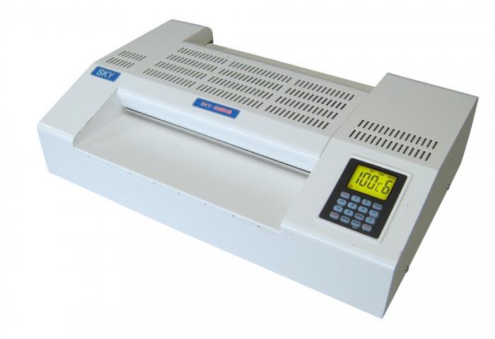 Profesionální kapsový laminátor A3 DSB-SKY330R10