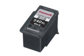 Printwell Canon PG-540XL black - kompatibilní cartridge 24ml + čip