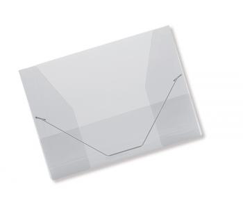 Spisové desky CONCORDE A4 s gumou, čirá