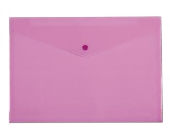 Spisové desky CONCORDE s drukem A5, pastelová růžová