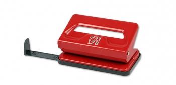Děrovačka SAX 128, červená