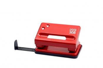 Děrovačka SAX 308, červená