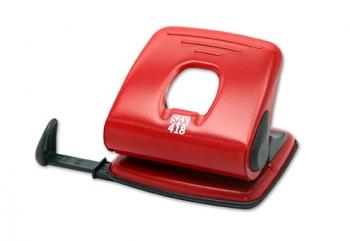 Děrovačka SAX 418, červená