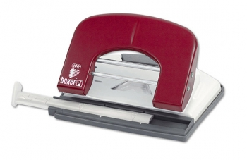 Děrovačka BOXER P1, červená