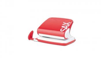 Děrovačka SAX Design 318, červená