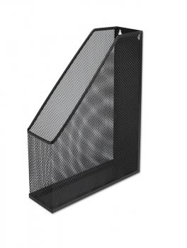 Kovový stojan na katalogy CONCORDE, černý