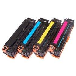 Printwell Sada tonerů CMYK HP CB540,CB541,CB542,CB543 - kompatibilní