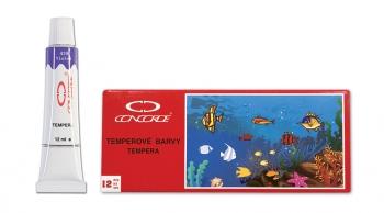 Temperové barvy CONCORDE 12ml - 12ks