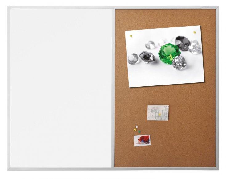 Rotacard Kombinovaná tabule Magetoplan SP optimal korek/magnet 120x90 cm magbokombi1290