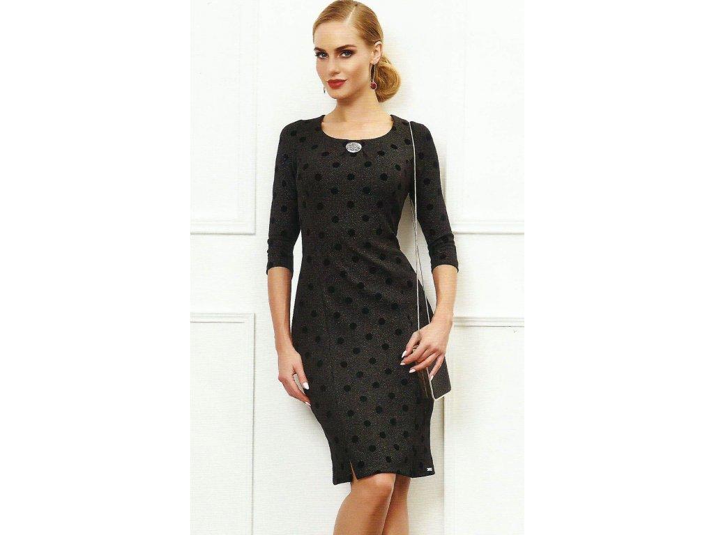 2b9231418b0 Dámské černé společenské šaty - Noel boutique