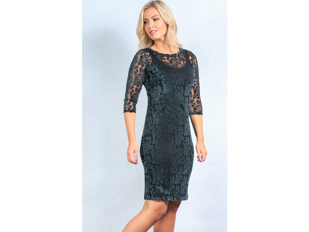 Dámské krajkové šaty i pro plnoštíhlé - Noel boutique 436d30fb85b