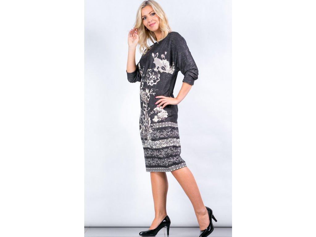 f236eade56c Dámské šaty s kimono rukávem Dámské šaty s kimono rukávem ...