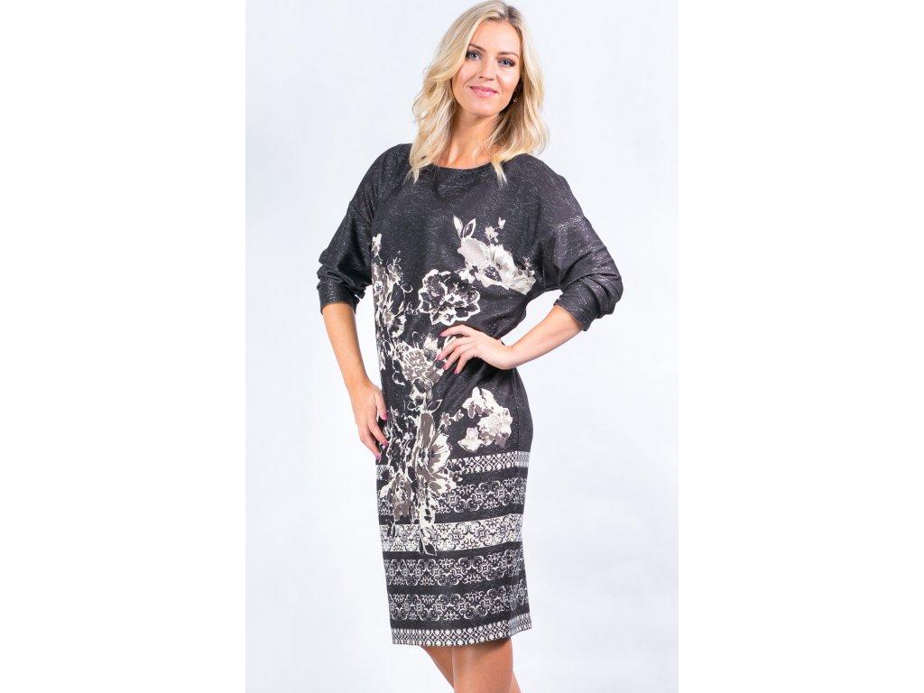 f9a2f62d872 Dámské šaty s kimono rukávem - Noel boutique