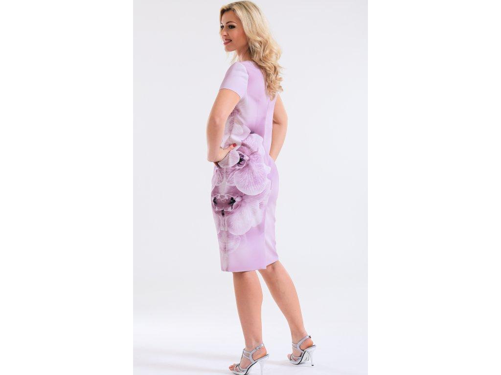 Dámský komplet růžové šaty s bolerkem Dámský komplet růžové šaty s bolerkem  ... 9d55faa5b4
