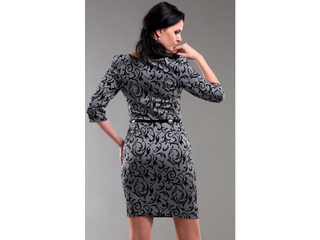 117b5751720 Úpletové šaty s rukávem Úpletové šaty s rukávem ...